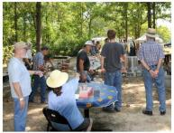 Fire in Swamp 2009 Gets Underway