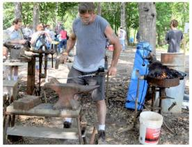 At the Anvil, Fire in the Swamp 2009
