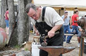 Hot cutting iron by Wayne Cash
