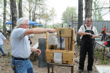 hand made tool box and black smith tools given away 2011