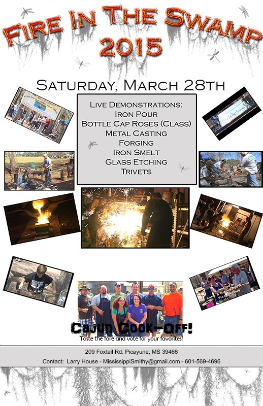 Fire in the Swamp 2015 hosted by Dragons Watch Forge  Foundry